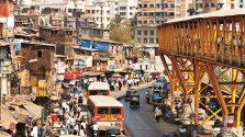 Traffic in Mumbai, India