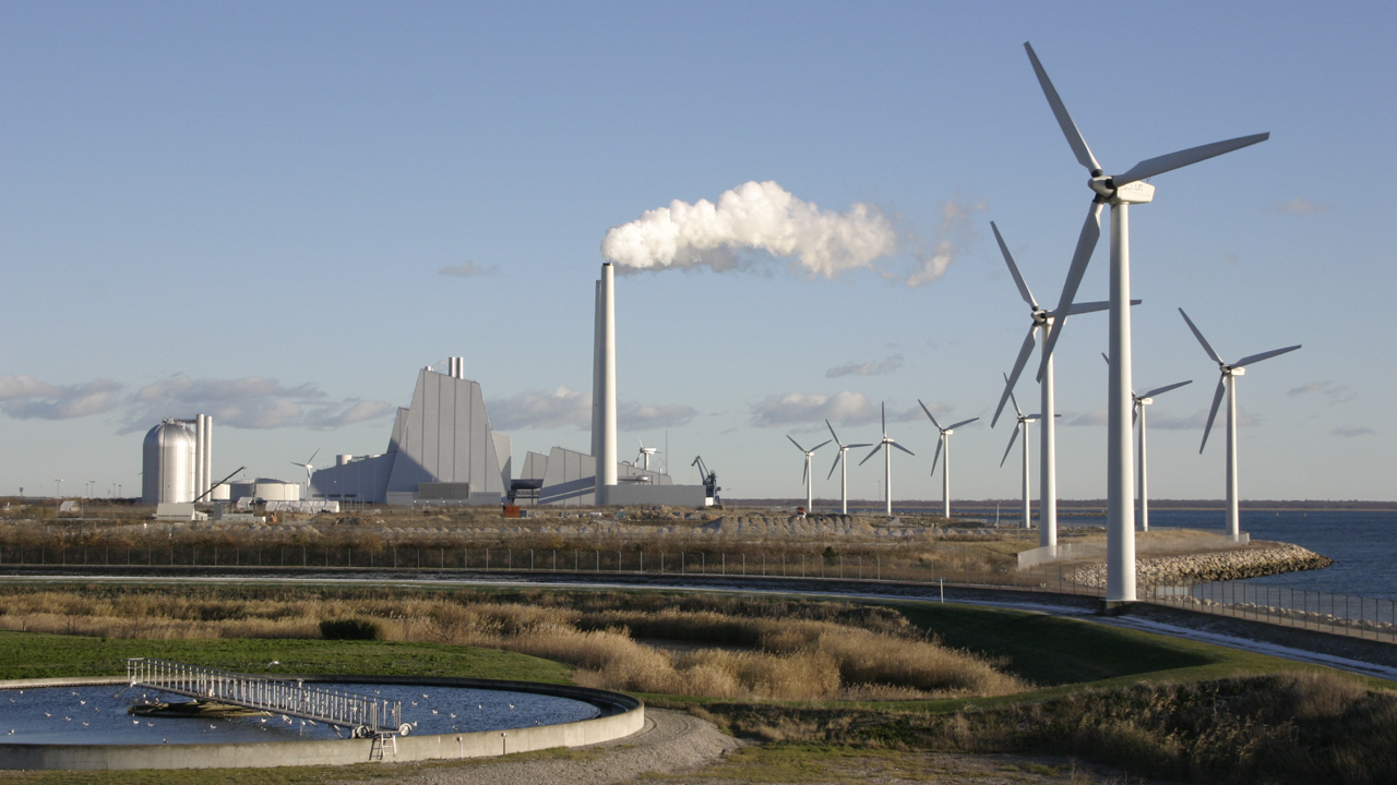 Avedøre power plant outside Copenhagen