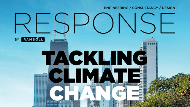 Front page of Response no. 4: Tackling Climate Change